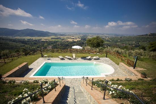 Il Nido Degli Ulivi : The pool for the exclusive use of our guests