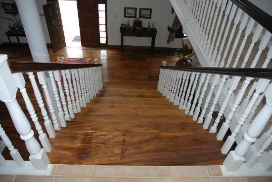 Tamarind Great House: Beautiful wood floors