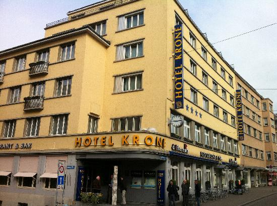 Hotel Krone Unterstrass: Front view of hotel