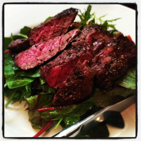 The Woolly Sheep Inn: Salt and pepper steak salad