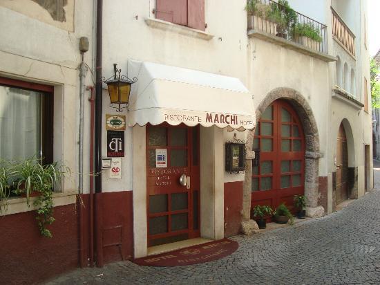 Hotel Marchi: Ingresso hotel