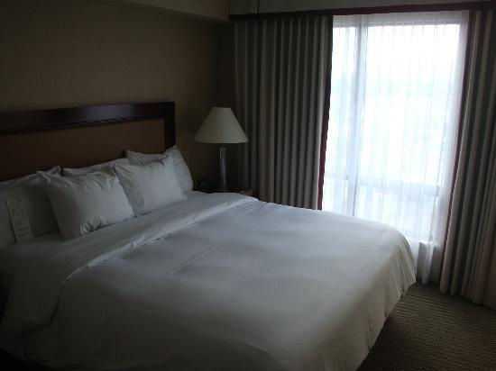 Hilton Vancouver Airport: Comfy Hilton Bed