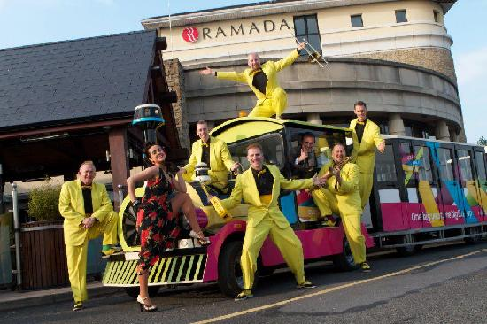 LegenDerry RoadTrain : With The Jive Aces at City of Derry Big Band & Jazz Festival 2012