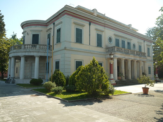 Corfu Town, Yunanistan: The Palace