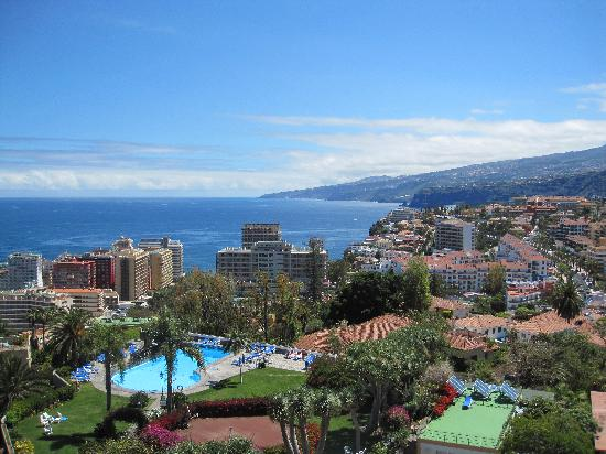 Miramar Hotel Tenerife Island: View from our balcony