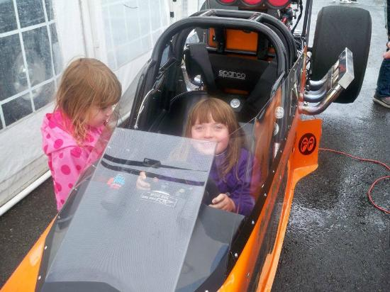 Santa Pod Raceway: The Fun we had!!