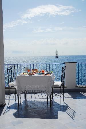 Hotel Palladio: terrazza ristorante