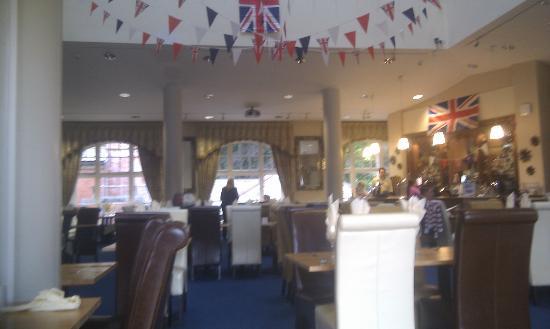 Blackburn House: Restaurant