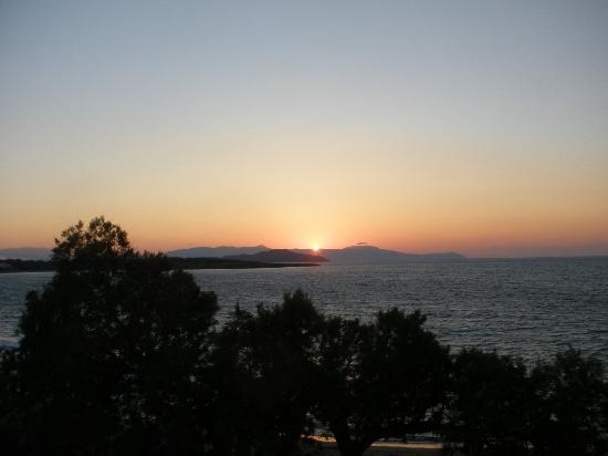 Melani Apartments : Sunset from the balcony
