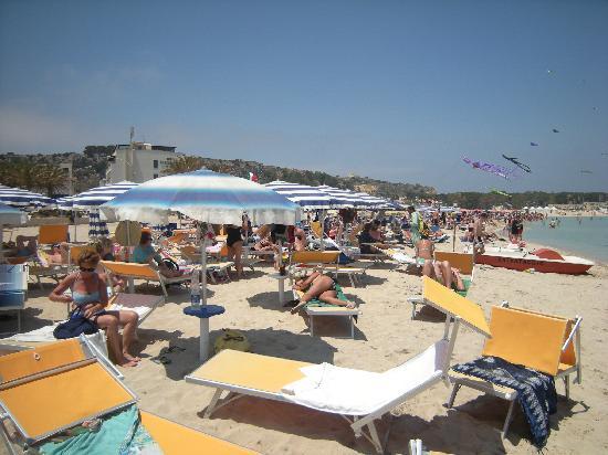Spiaggia di San Vito lo Capo: Spiaggia S.Vito sabato 26 maggio