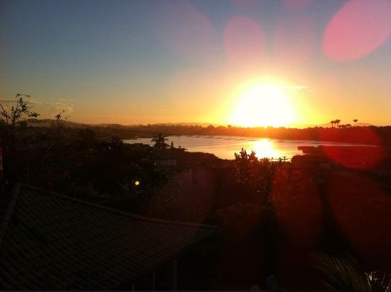 Bon Bini Pousada: sunset