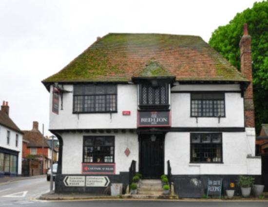 The Red Lion Inn: Red Lion Frontseite