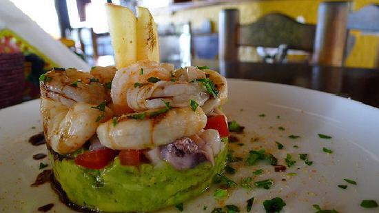 Casa Nostra Restaurant: Ceviche