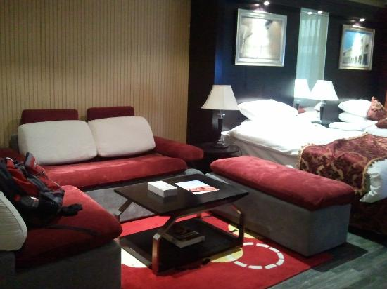 BEST WESTERN PLUS Doha: The living area of my room