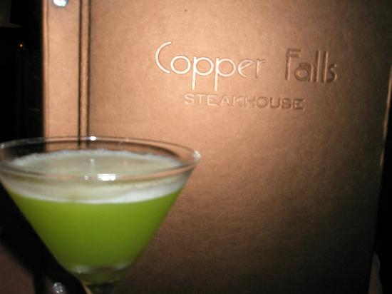 Copper Falls Steakhouse: Bring me another!