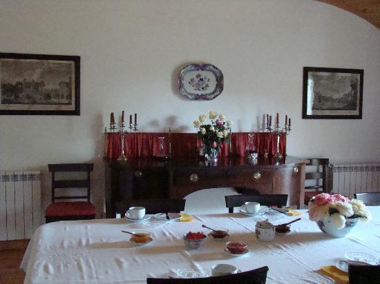 Casa De Vilarinho De S. Romao : Dining room
