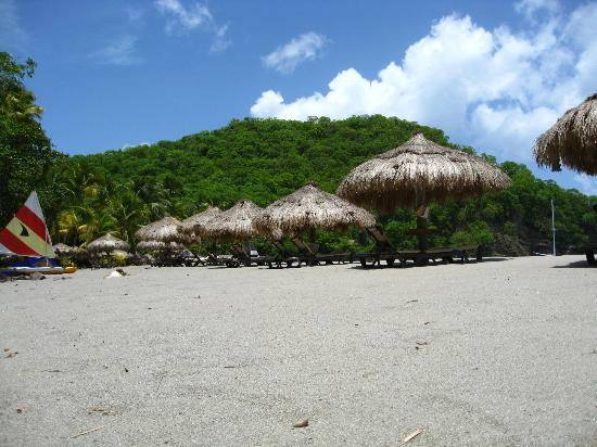 Anse Chastanet Beach and Reef: Cabanas