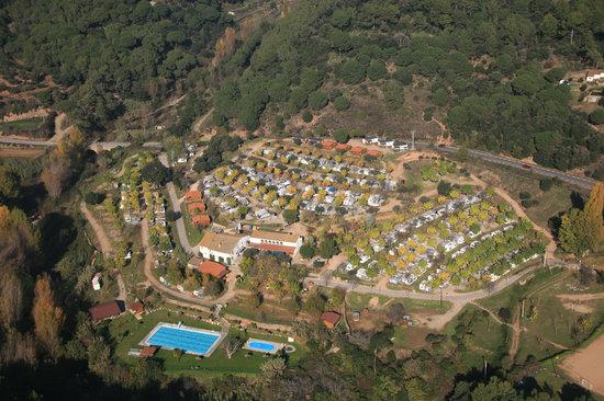 Caldes de Montbui, Spania: Vista aérea