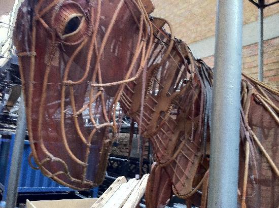 THE NATIONAL THEATRE - un cavallo di legno