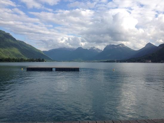 Hotel du Lac : le lac