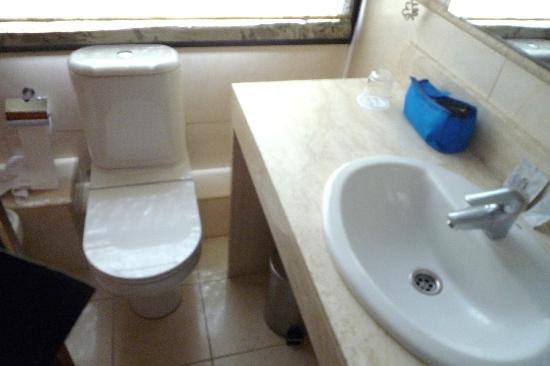 Hotel Pelai No. 1: WC, lavandino e bidet