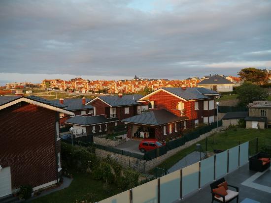 Calas de Liencres: Vista desde la ventana del baño