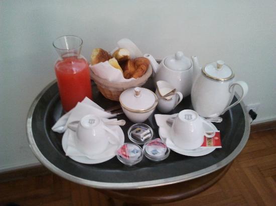 City Rooms: Desayuno