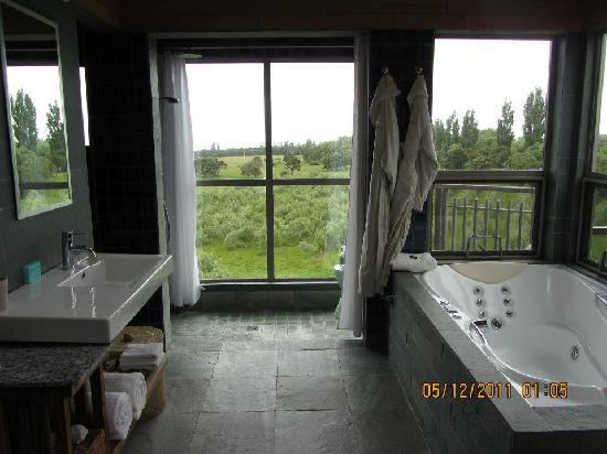 Hapuku Lodge: Room with a view