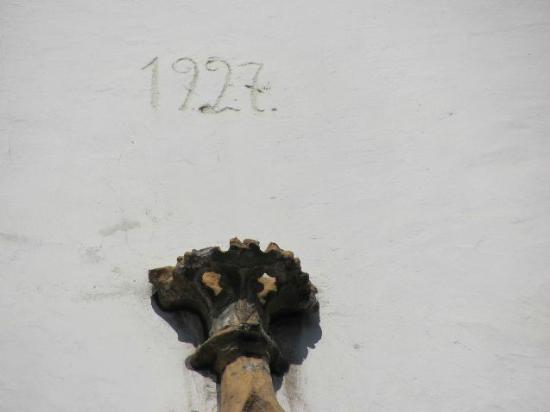 St. Gangolf: inscription year