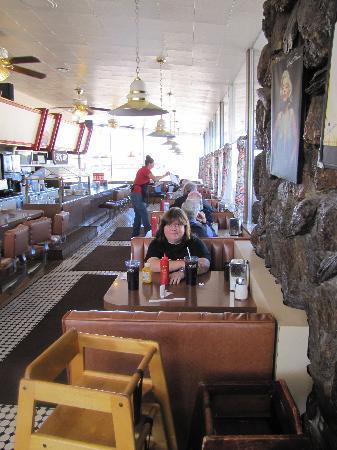 Goldie's Route 66 Diner: Otra del interior