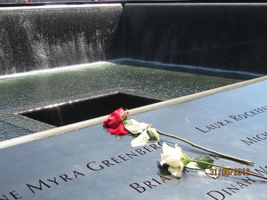 National September 11 Memorial und Museum: View of memorial