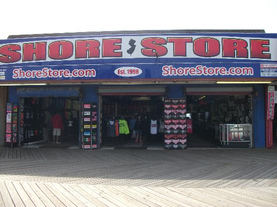 Seaside Heights, NJ: Gotta go visit the Shore Store.....Maybe see the Jersey Shore cast?