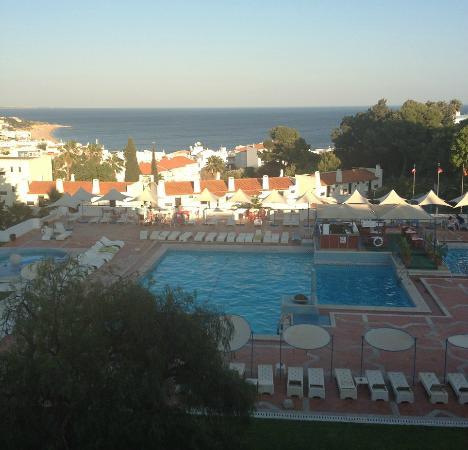 Albufeira Jardim - Apartamentos Turisticos: View from our balcony