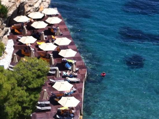 Sirene Blue Resort : SIRENE BLU DECK