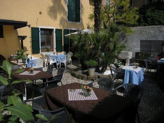 Toscolano-Maderno, Itália: il giardino
