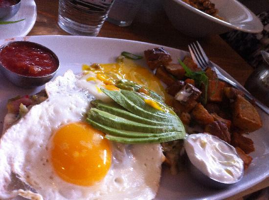 Blue Star Diner: Huevos Rancheros