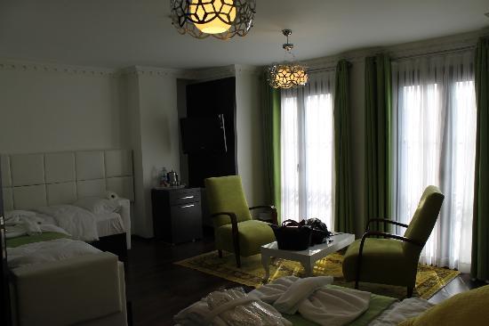 Kumru Hotel: Deluxe room