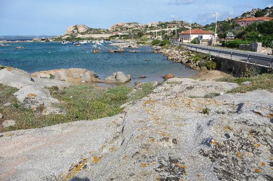 Hotel Ristorante Nido D'Aquila : juste en face, la mer