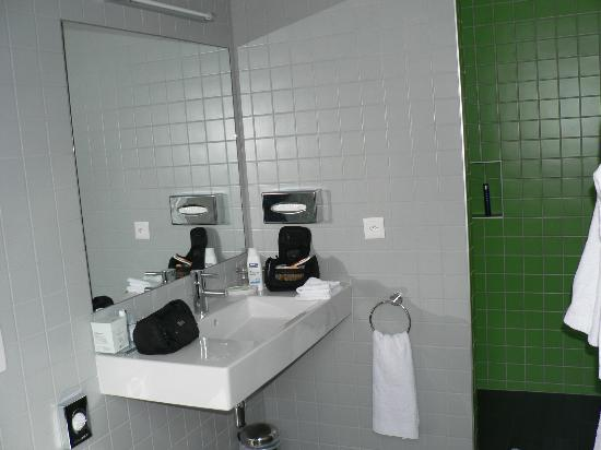 International et Terminus : salle de douche
