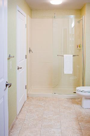 White River Inn and Suites: Bath with Shower