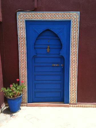 Riad Lebakoua: Porte de la chambre