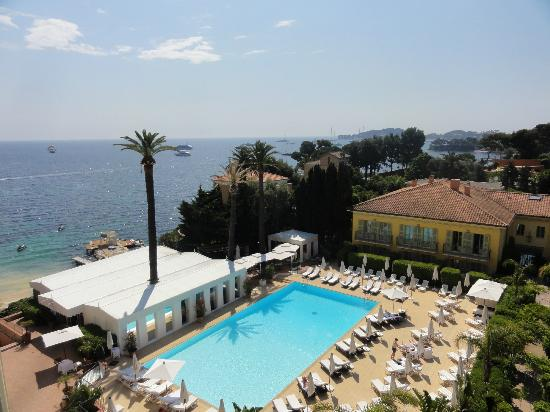 Hotel Royal-Riviera : View from room over the pool