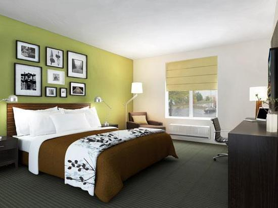 Sleep Inn Concord: Guest Room with King Bed