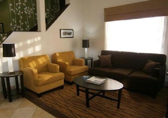 Sleep Inn Concord: Spacious Lobby & Seating Area