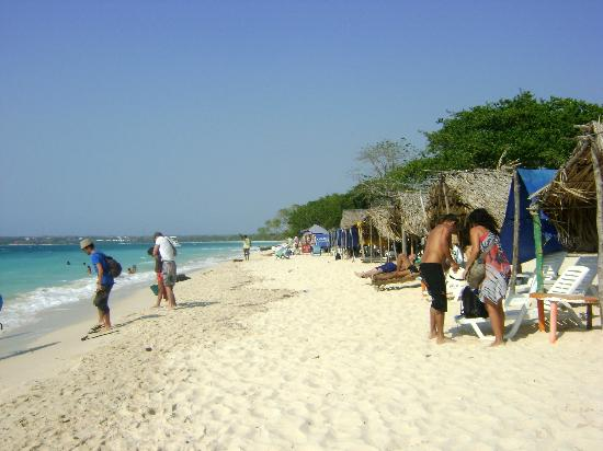 Isla Baru, Kolumbien: Isla Barú. Playa Blanca