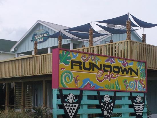 Rundown Cafe : New hula deck!!!!