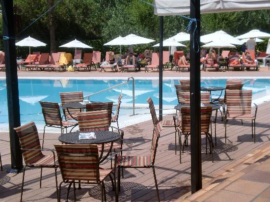 Hotel Serrano Palace: Terraza