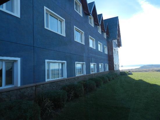 Alto Calafate Hotel Patagonico : Vista del patio
