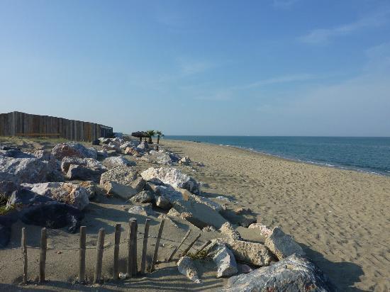Résidence Le Mas de Torreilles: Vue de la plage