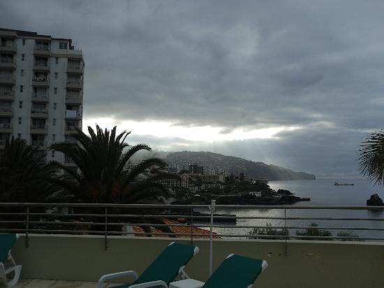 Madeira Regency Cliff: early morning terrace